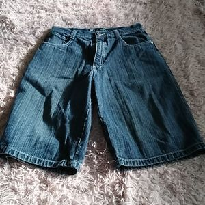 Boys south pole Jean shorts